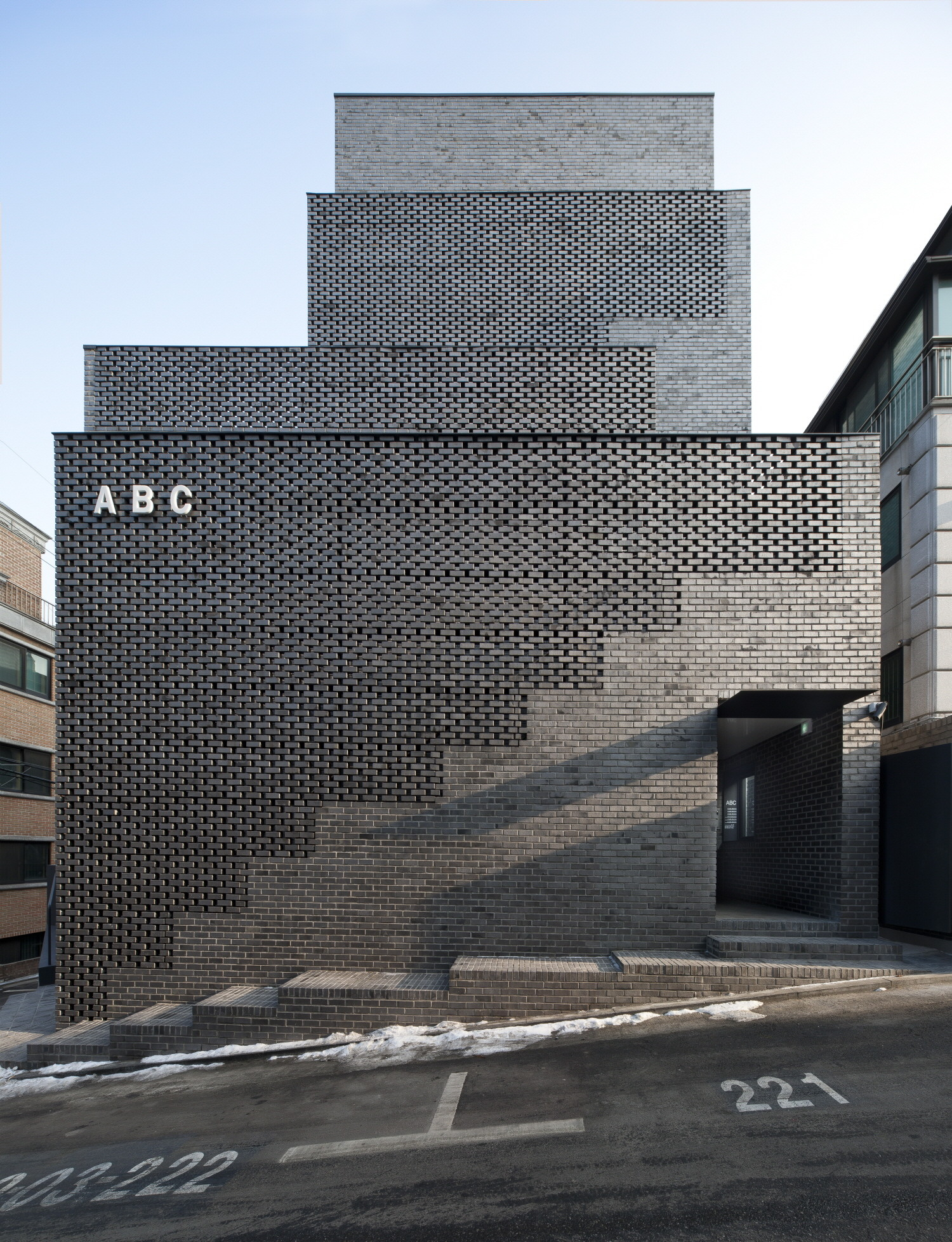 Black Marble Buildings : Abc building wise architecture archdaily