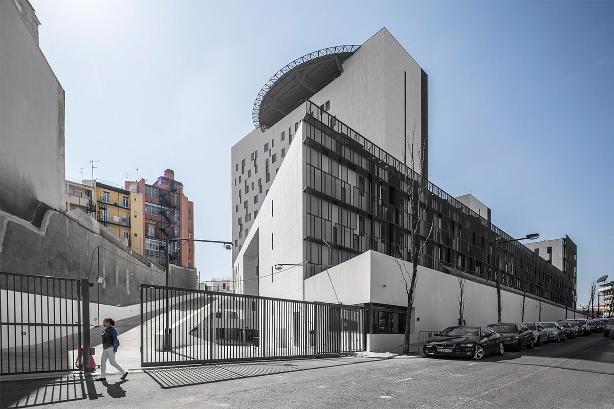 New Judiciary Police Department 's Headquarters / Saraiva + Associados, © Fernando Guerra | FG+SG