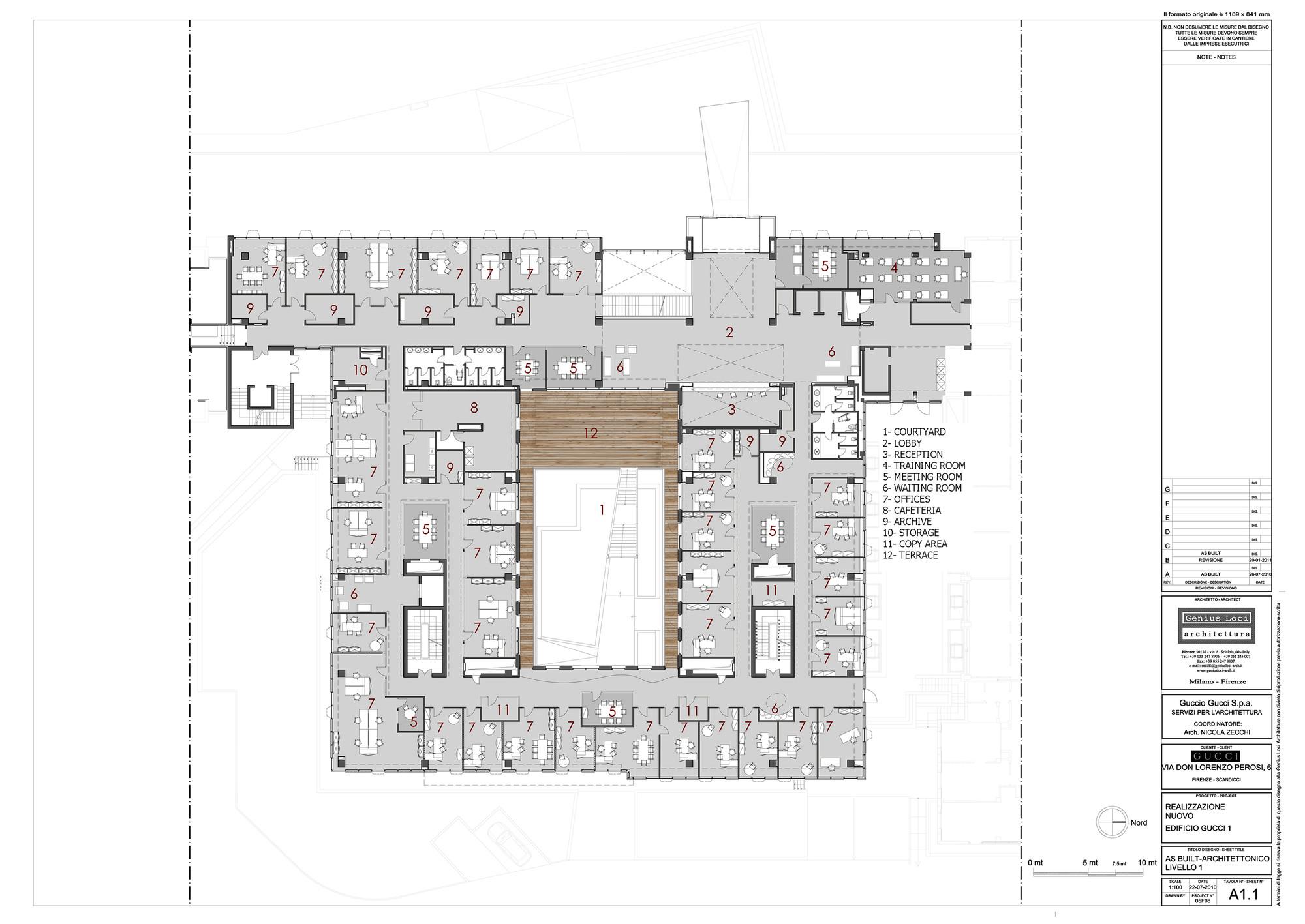 Gallery of Gucci Headquarters / Genius Loci Architettura - 13