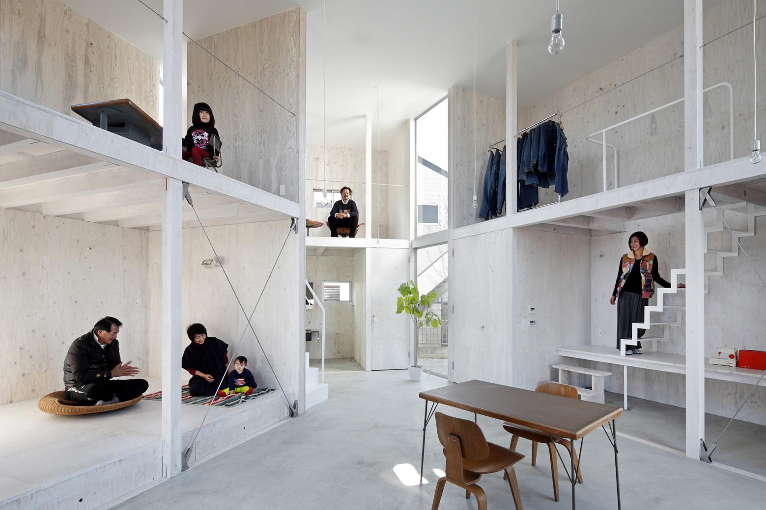 House in kashiwa yamazaki kentaro design workshop for Interior design workshop
