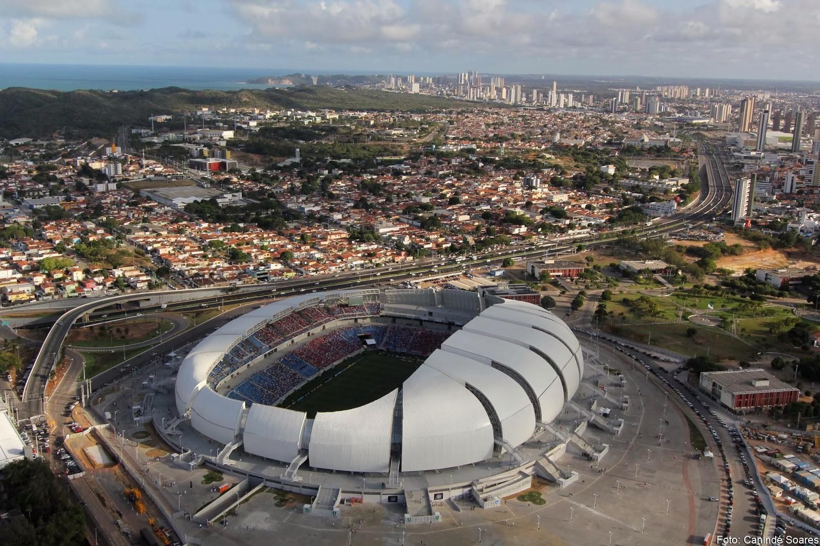 """I Encontro """"Esporte, Sociedade e Políticas Públicas"""", na UFRN, Arena Dunas, Natal - RN. Image © Demis Roussos/Canindé Soares"""