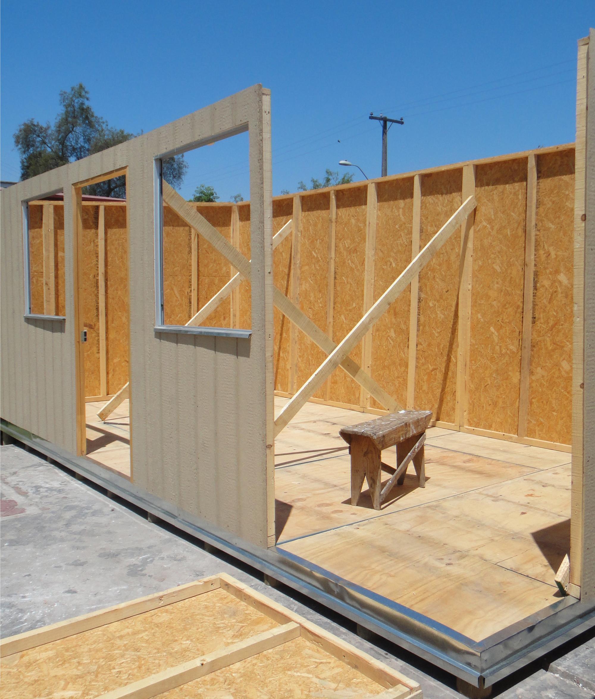 C mo es la arquitectura de una vivienda b sica en chile for Arquitectura prefabricada