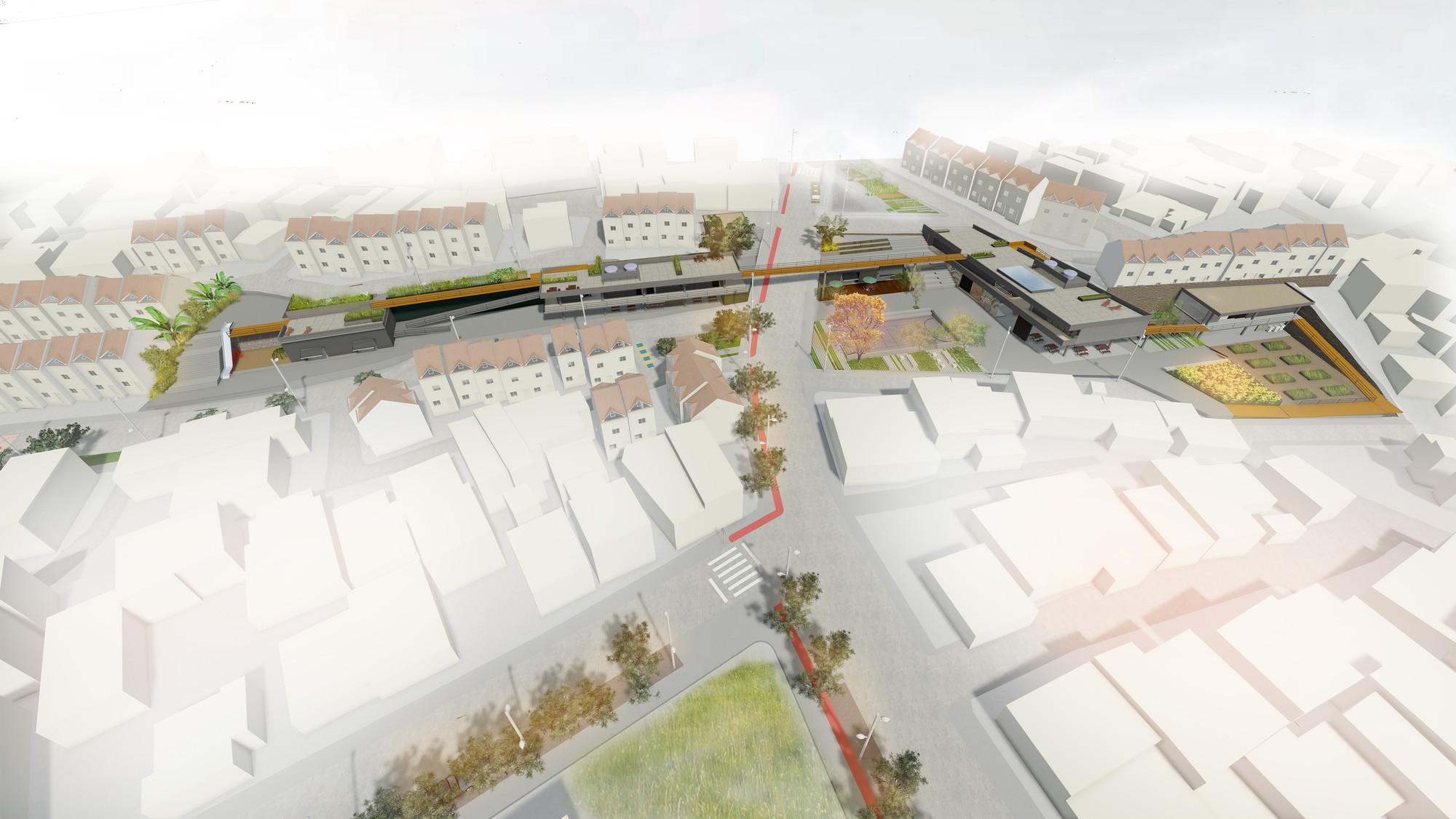 Primer Lugar América Latina y Caribe en Competición Internacional 'Urban Revitalization of Mass Housing' de ONU-Habitat, Vista general. Image Courtesy of Mariana Morais Luiz