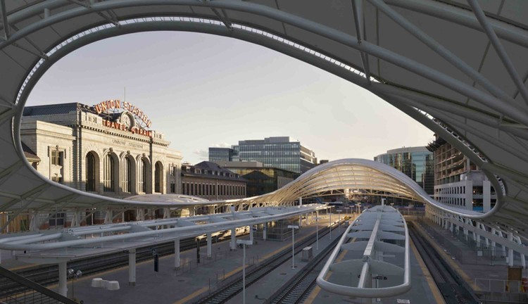 Denver Union Station  / SOM, Courtesy of Robert Polidori