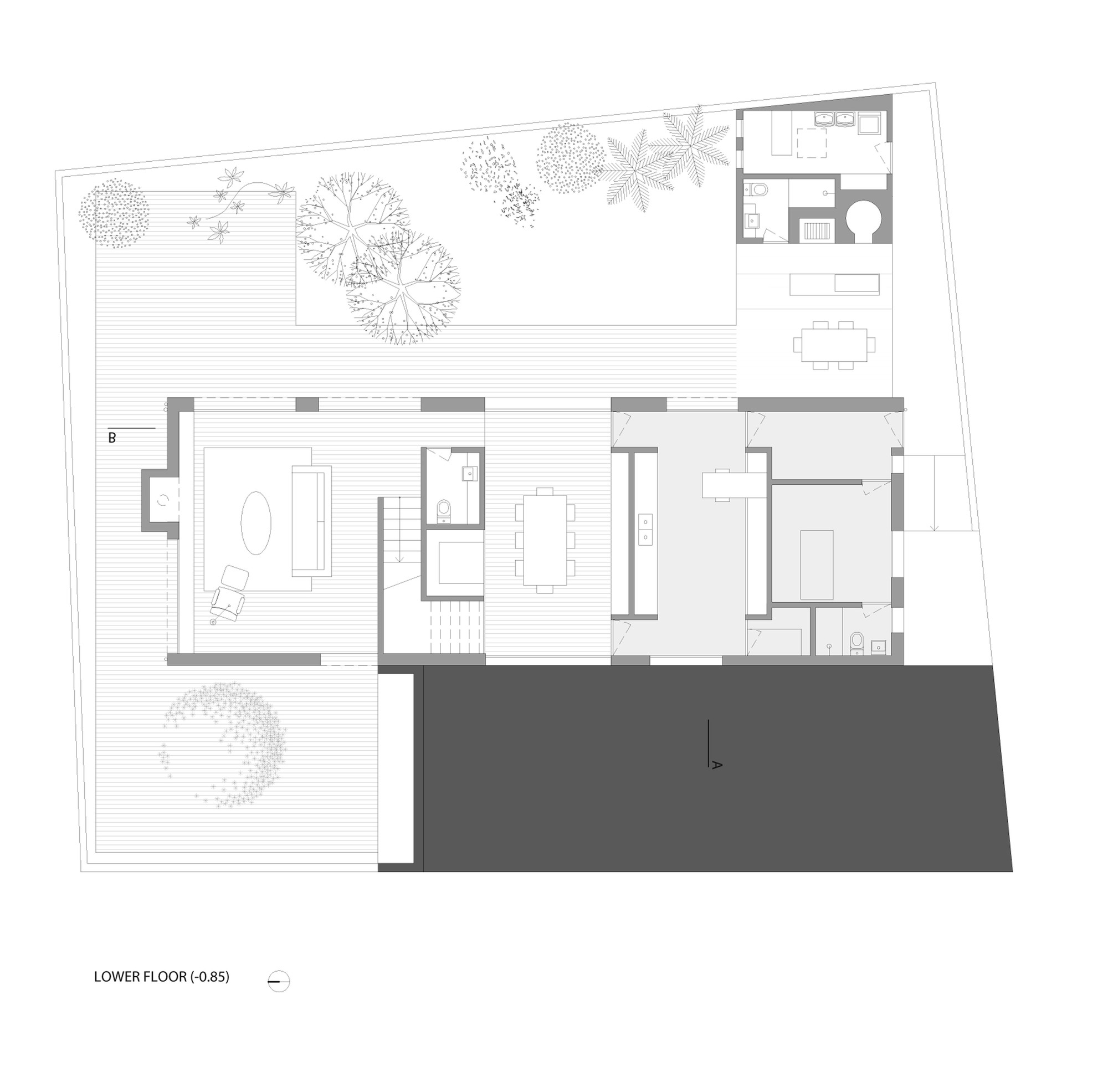 Gallery of patio house ar arquitetos 23 for Patio house plans
