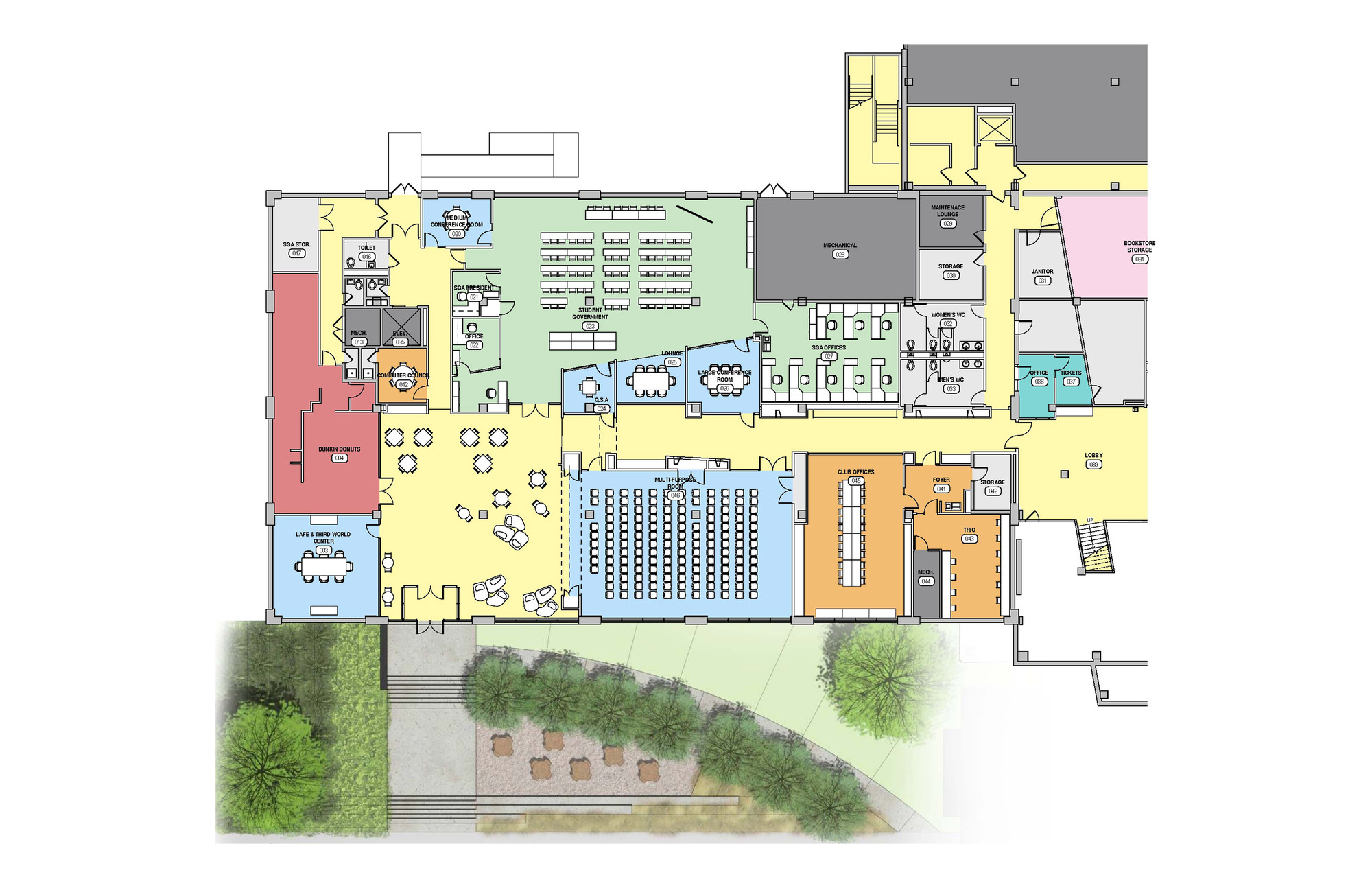 Gallery of Westfield State New University Hall / ADD Inc. - 9