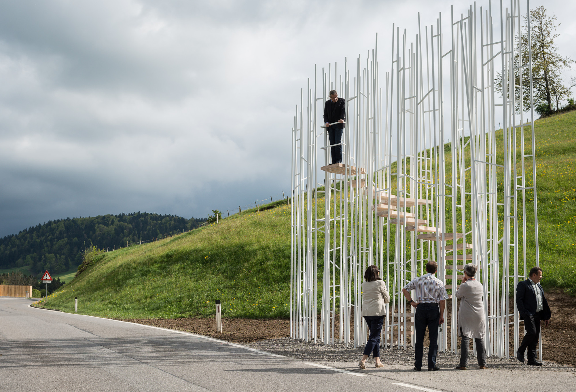 BUS:STOP Unveils 7 Unusual Bus Shelters by World Class Architects, Sou Fujimoto's BUS:STOP design. Image © Yuri Palmin