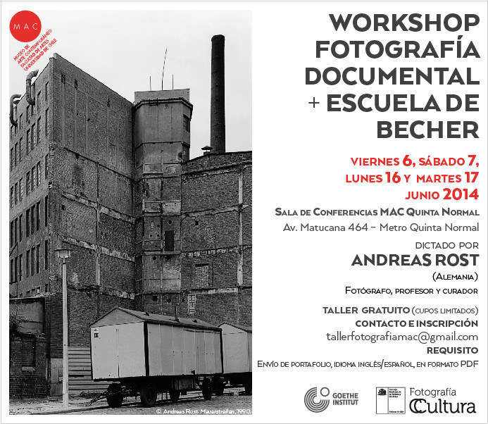 Workshop Fotografía Documental. Escuela Becher [Gratuito]