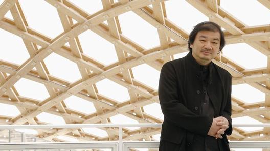 Shigeru Ban en el Centre Pompidou - Metz, Francia. Imagen Courtesía de japantimes.co.jp