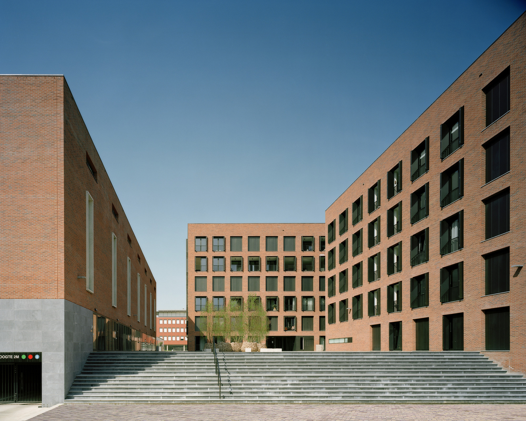 Piazza Céramique / Jo Janssen Architecten, © Atelier Kim ZWarts