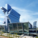 Nanfung Commercial, Hospitality and Exhibition Complex / Aedas. Image © Langham Place, Guangzhou