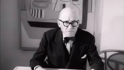 """Rare Footage of Le Corbusier Discussing his Work, Poetry & the """"Ideal City"""""""