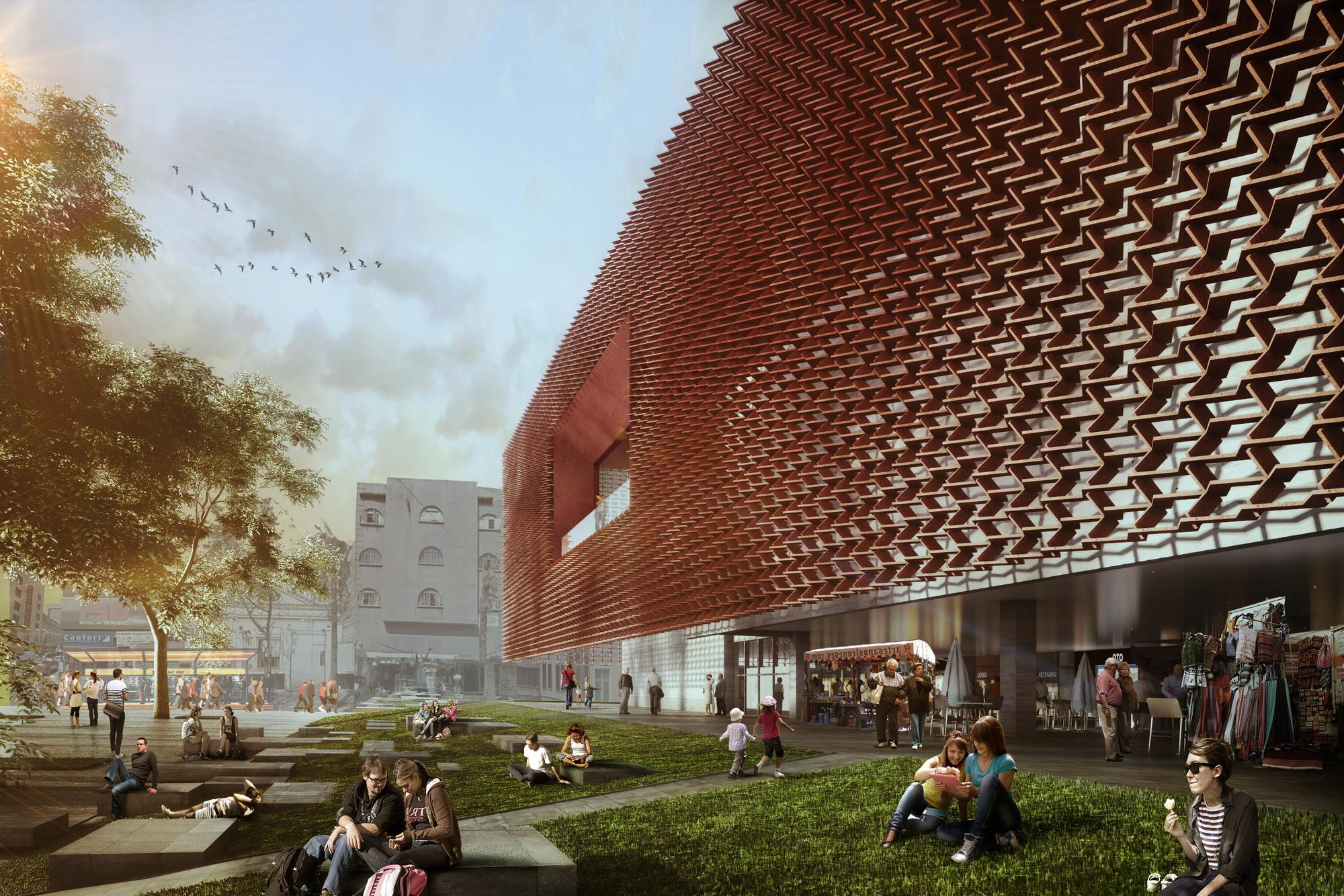 Primer Lugar Concurso de Arquitectura Intervención Urbana 2014 / México , Cortesia de Morodo Arquitectos