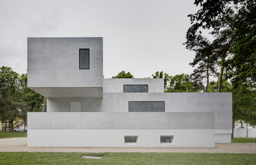The newly renovated Gropius House. Image courtesy of the Bauhaus Dessau Foundation. Image © Christoph Rokitta