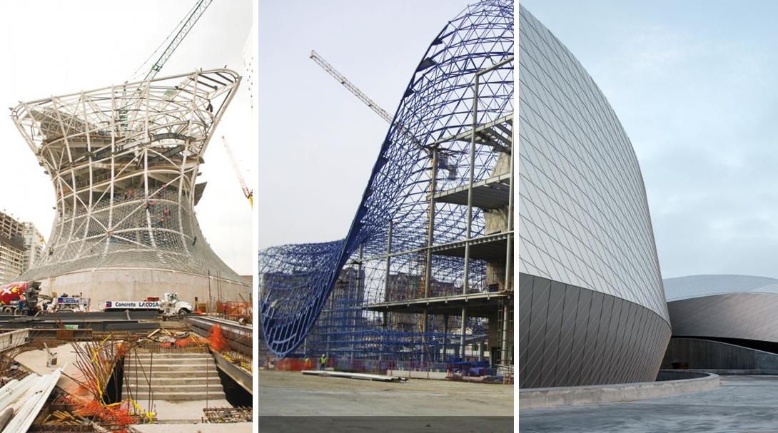 En construcci n dise o param trico plataforma arquitectura for Paginas de construccion y arquitectura