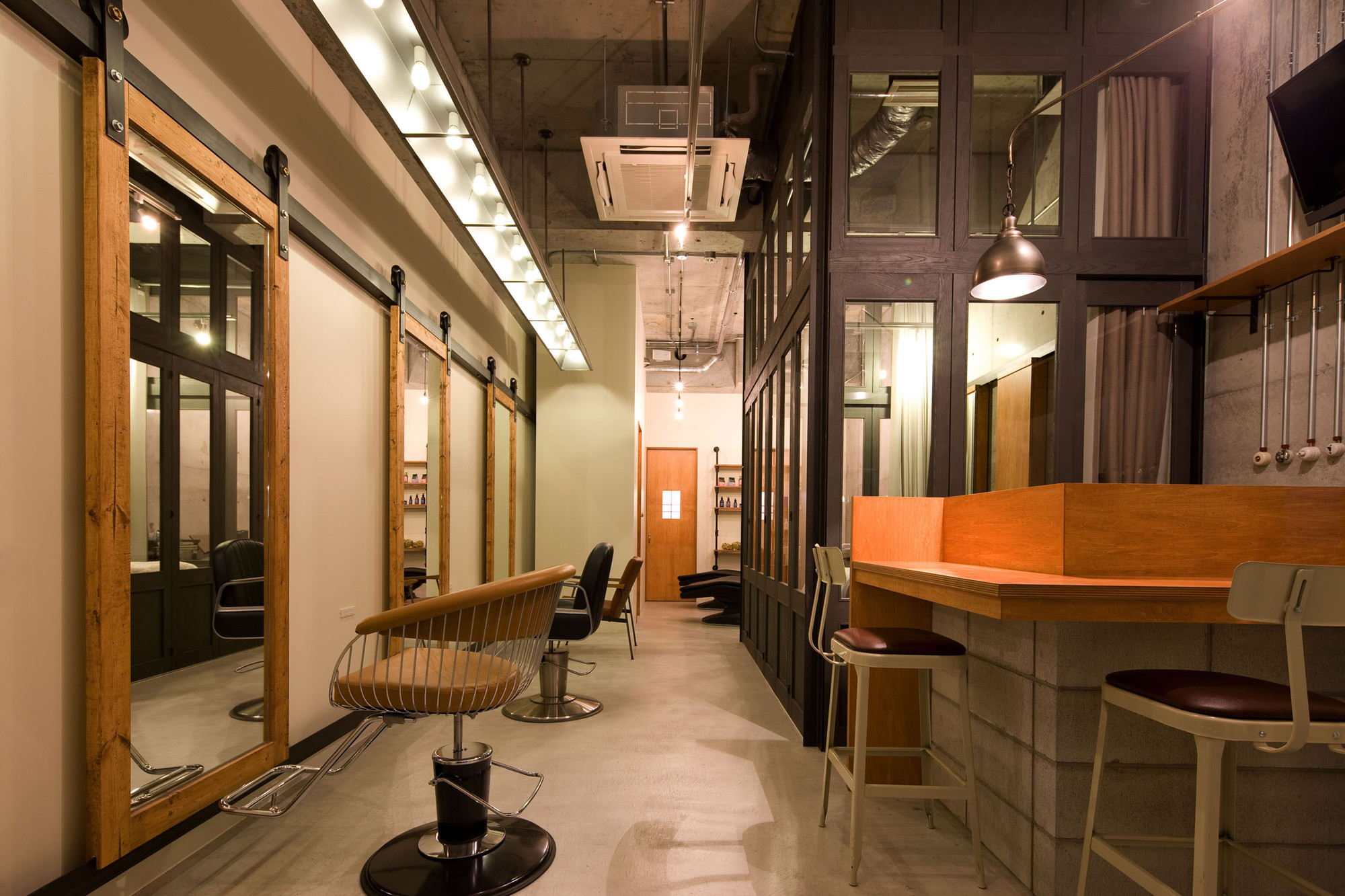 Ki se tsu hair salon iks design archdaily for Salon de design
