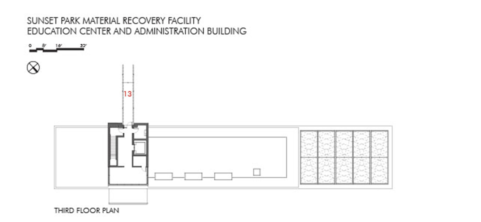 Gallery of sunset park material recovery facility for Deck plans and material list
