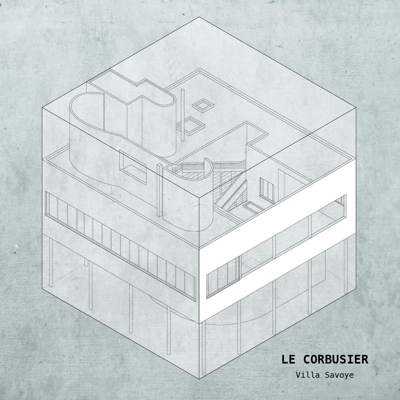 Arte y Arquitectura: las casas más famosos de la historia de la Arquitectura confinadas a un cubo, Cortesía de Yannick Martin