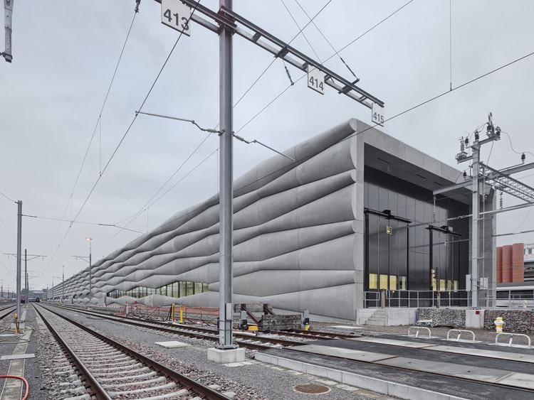 Instalações de Serviço de Extensão Ferroviária / EM2N, © Roger Frei
