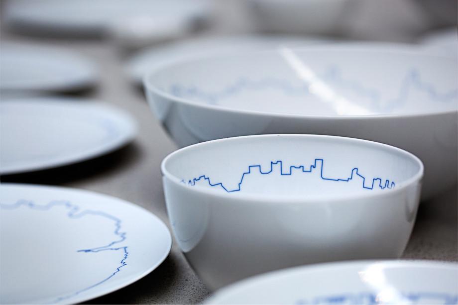 BIG and Kilo Redesign Gropius' Tableware Set , © BIG