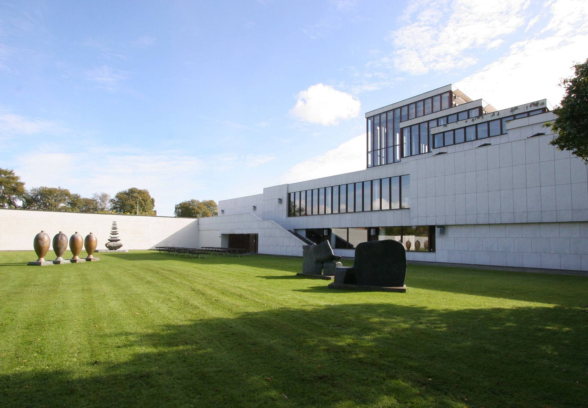 Erik Møller Arkitekter to Modernize Alvar Aalto's Kunsten, Kunsten Museum of Modern Art. Image via Wikipedia