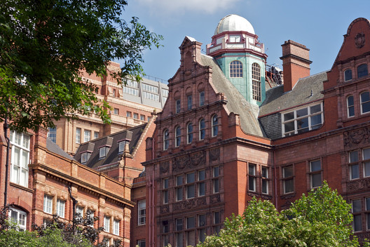 The University's existing Technology building, located at Sackville Street. Image © Flickr CC User Pete Birkinshaw