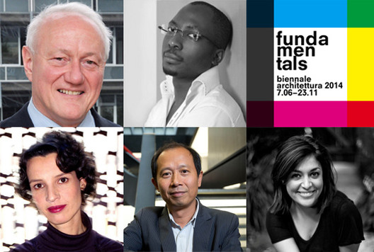 International Jury for Venice Biennale Announced, Courtesy of Venice Biennale 2014