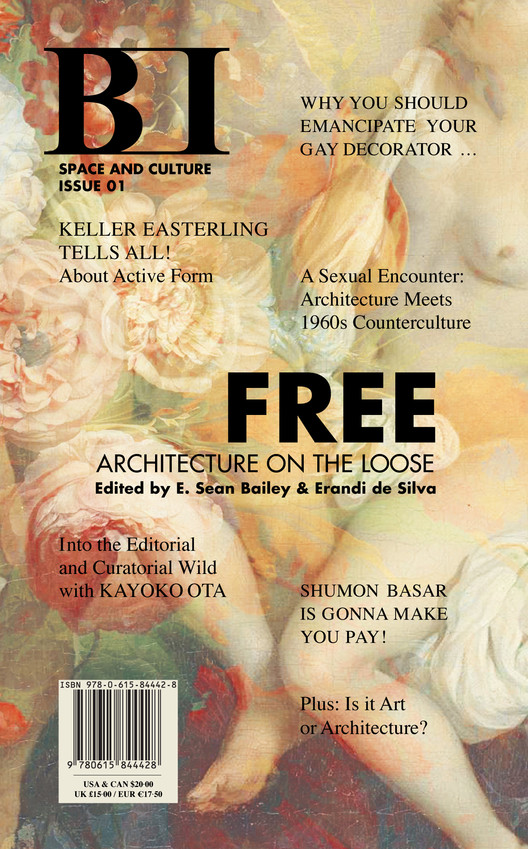 BI's First Print Edition Released - FREE: Architecture on the Loose, Courtesy of BI Publications