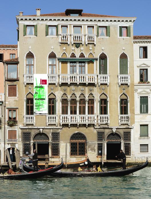 "Exposição ""Made in Europe"" mostra 25 anos do Prêmio Mies van der Rohe , Palazzo Michiel. Cortesia de Fundació Mies van der Rohe"