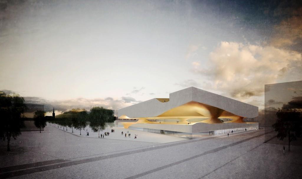 Aires Mateus gana competición para diseñar mezquita en Francia, Cortesía de publico.pt