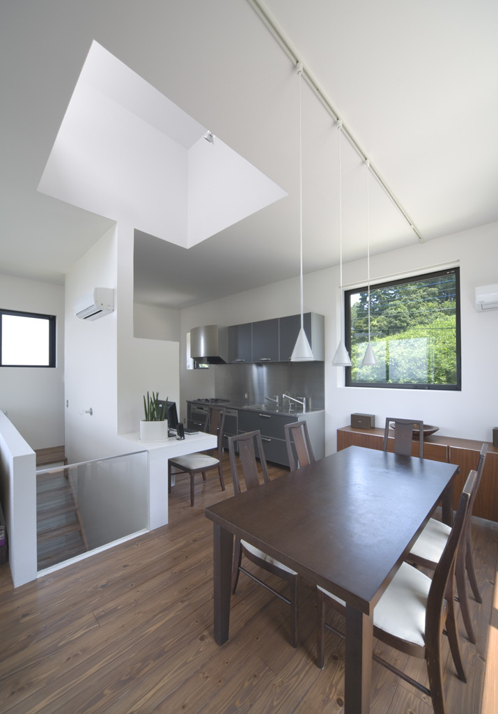 Gallery Of House With Square Opening Nks Architects 15