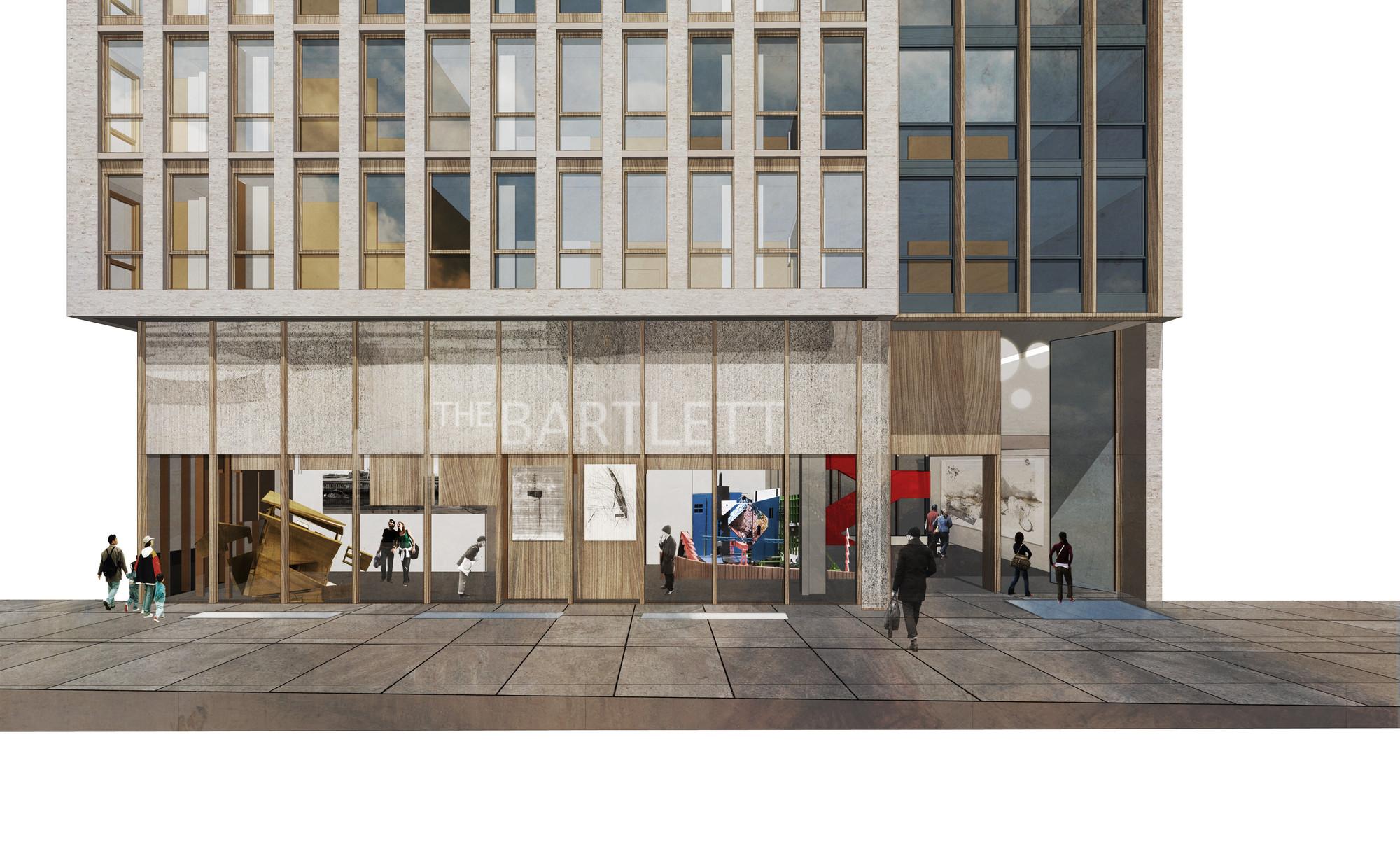 Gallery of hawkinsbrown reveal plans for bartlett school for Floor plans brown university