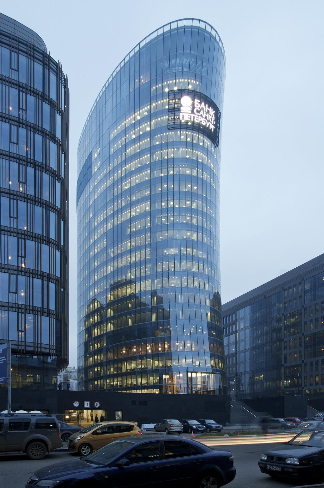 Bank Sankt Petersburg / Tchoban Voss Architekten