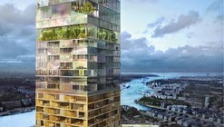 Zaha Hadid and SOM Among 5 Competing to Design Scandinavia's Tallest Tower