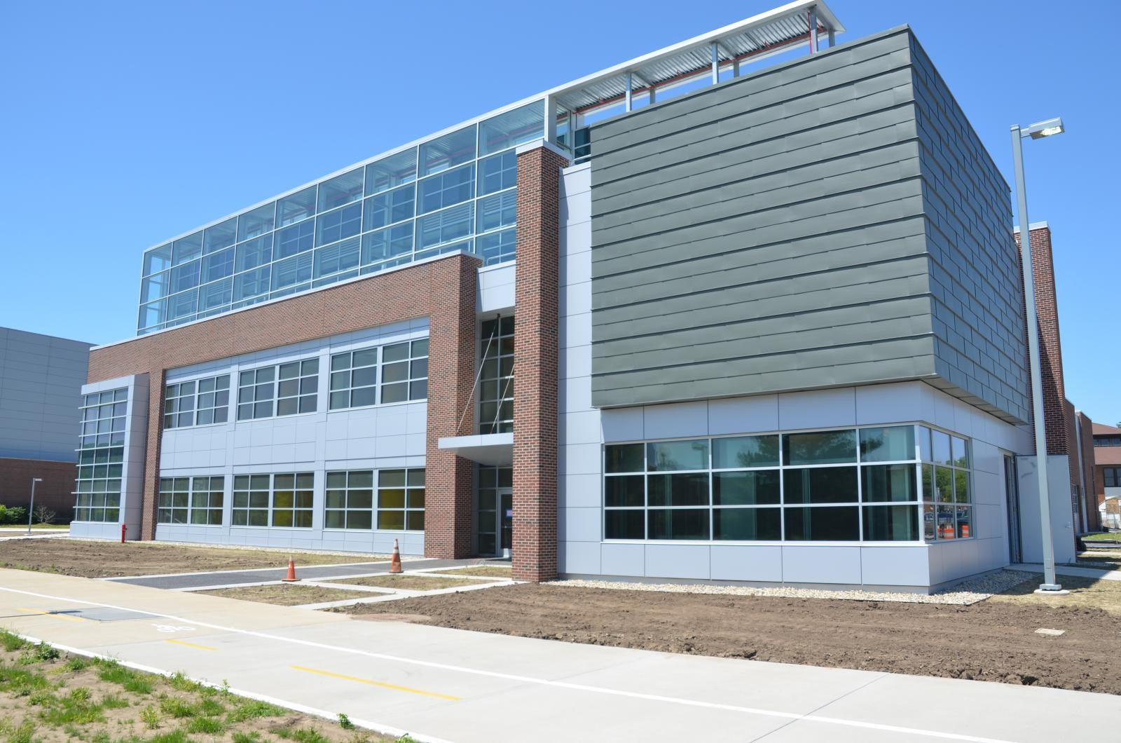 Marble Green Commercial Building Exteriors : Sustainable design build projects from seven universities