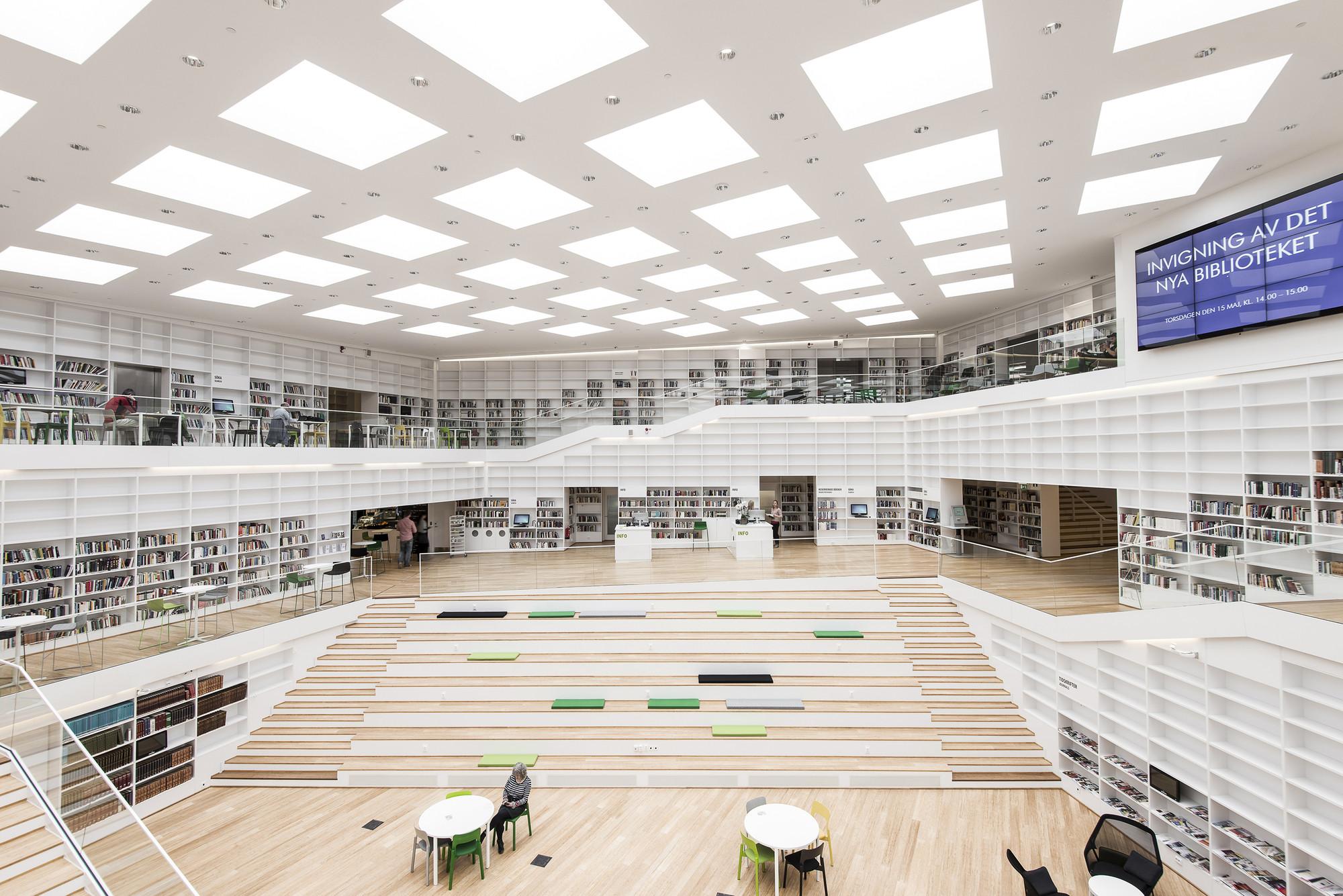 Biblioteca e Mediateca Dalarna / ADEPT, © Wilhelm Rejnus & Linus Flodin