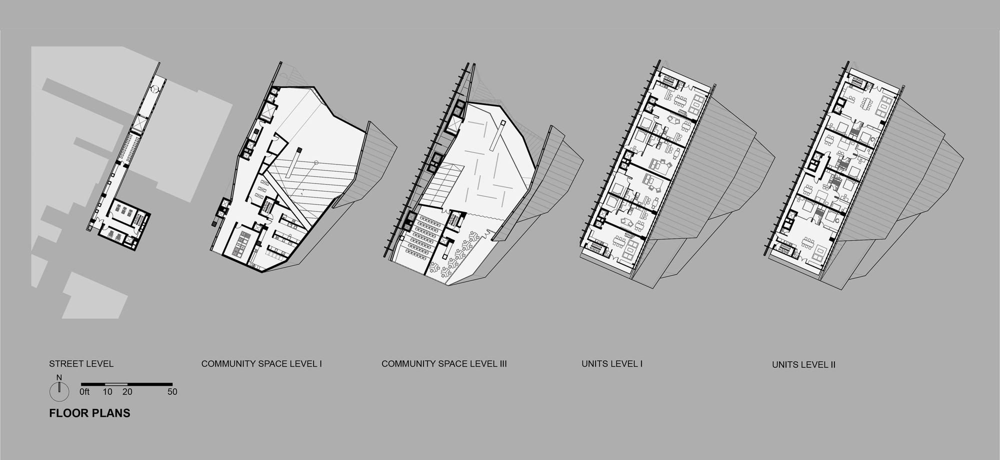 Typical Floor Plan Gallery Of Proposal For New York Skyscraper Cantilevers
