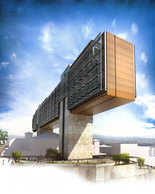 Pabell N De Costa Rica En La 14 Bienal De Arquitectura De