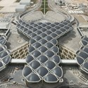 Queen Alia International Airport. Image Courtesy of Nigel Young / Foster + Partners