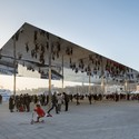 Vieux Port Pavilion. Image Courtesy of Nigel Young / Foster + Partners