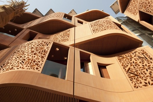 Masdar Institute. Image Courtesy of Nigel Young / Foster + Partners