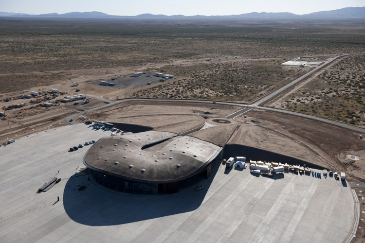 Spotlight: Norman Foster, Spaceport America. Image © Nigel Young