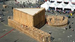 Pavilhão para a Feira das Culturas / PRODUCTORA