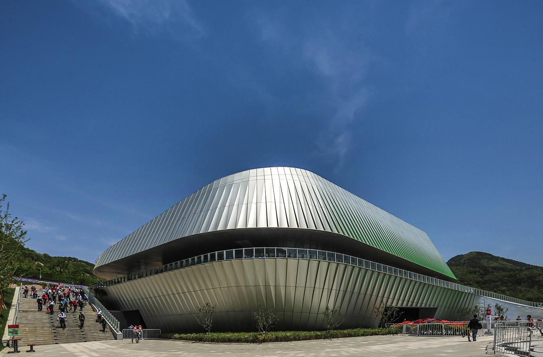Qingdao World Horticultural Expo Theme Pavilion / UNStudio, © Edmon Leong
