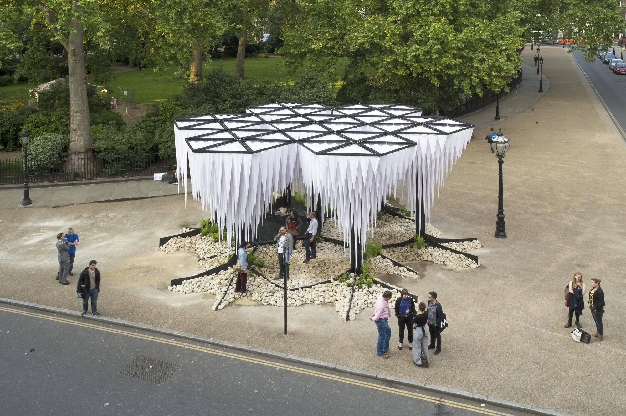 Última instalación de GUN Architects lleva el microclima chileno al Reino Unido, © Valeria Bennett