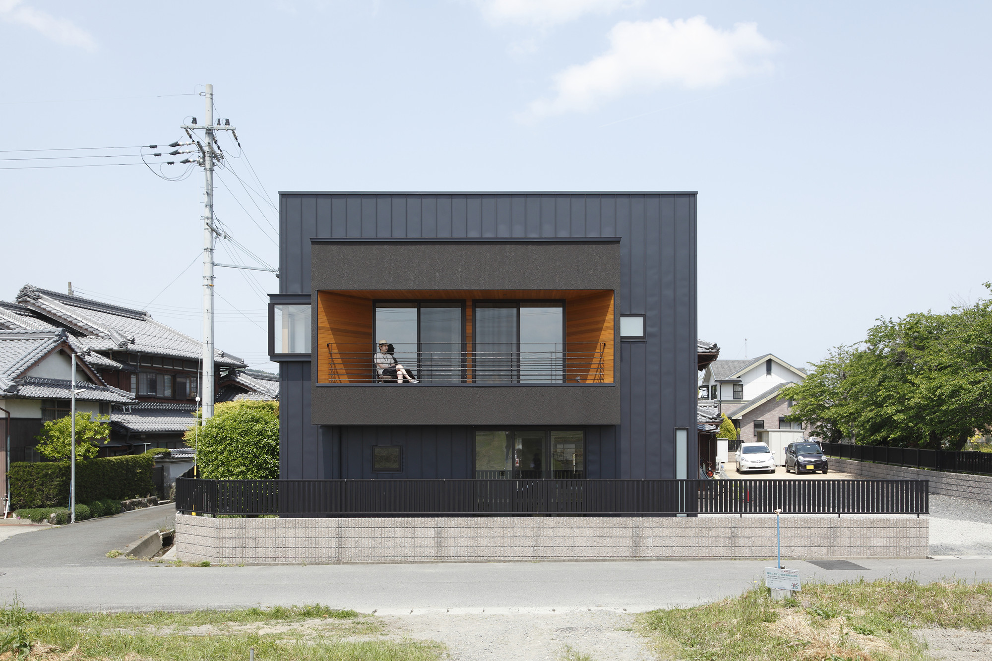 Minakuchi house alts design office building of the for Home architecture office