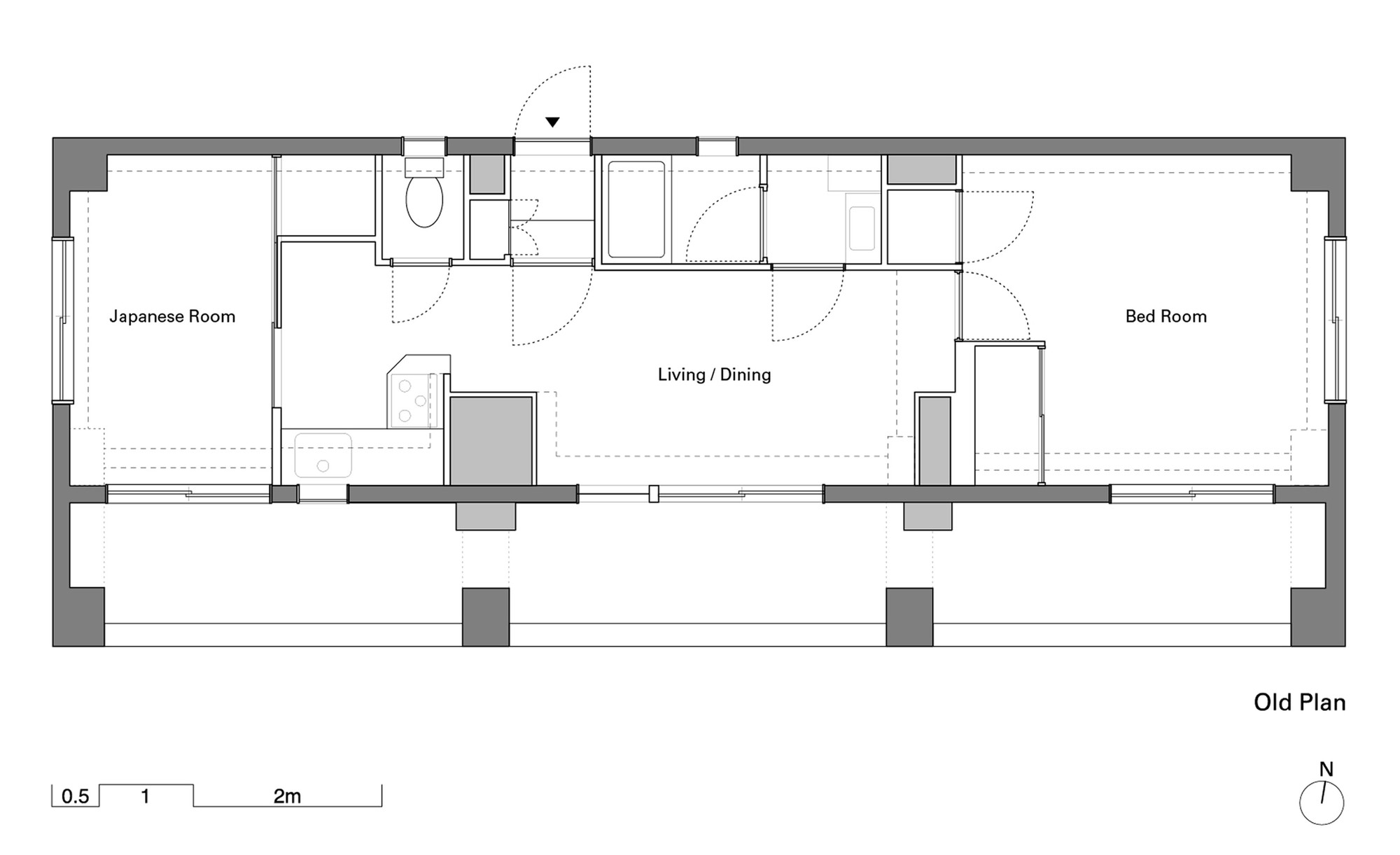 Gallery of wing wall house camp design inc sumosaga fudosan 11 zoom image view original size ccuart Images