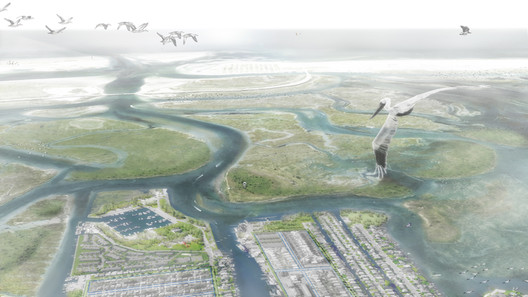 Living with the Bay: Resiliency-Building Options for Nassau County's South Shore by Interboro Team. Image Courtesy of rebuildbydesign.org