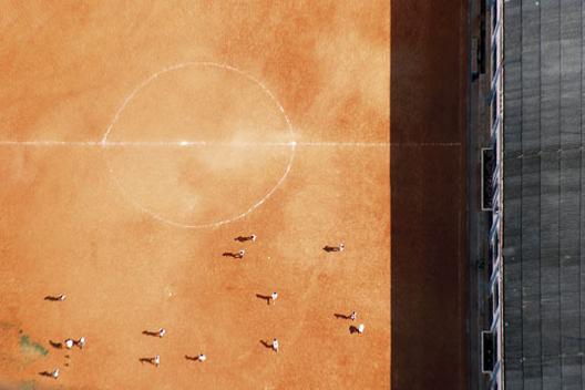 """""""Pelada"""" - exposição de fotografias por Leonardo Finotti no Rio de Janeiro, © Leonardo Finotti"""