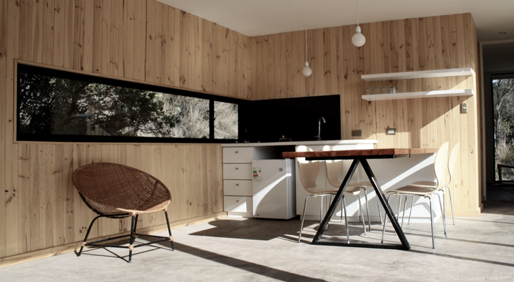 Carpintería PVC. Casa Gauayacán / Matias Ruiz Malbran